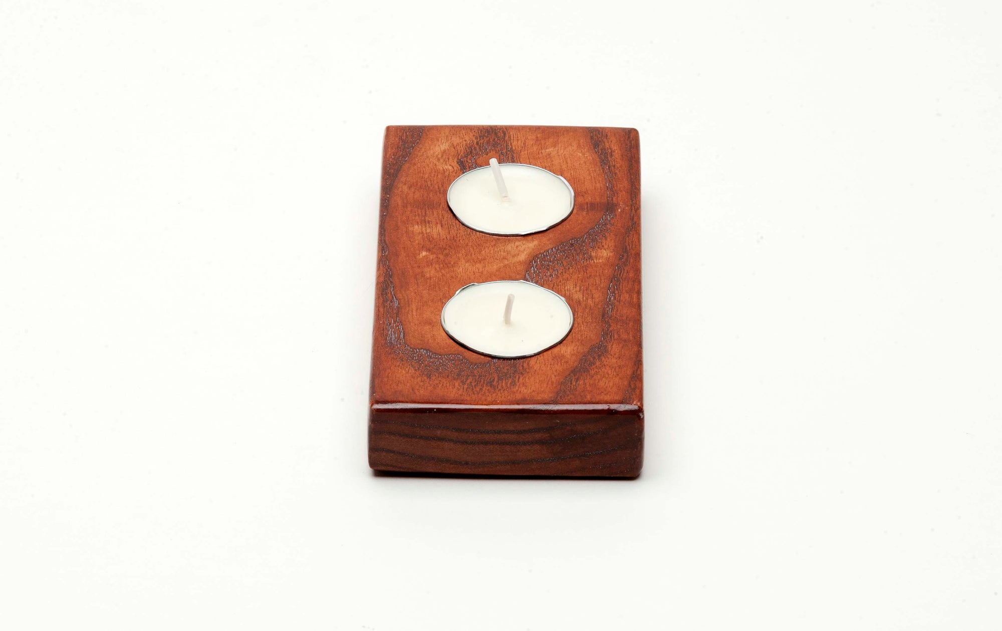 Tealight Candle Holder - 2 Candle Runner