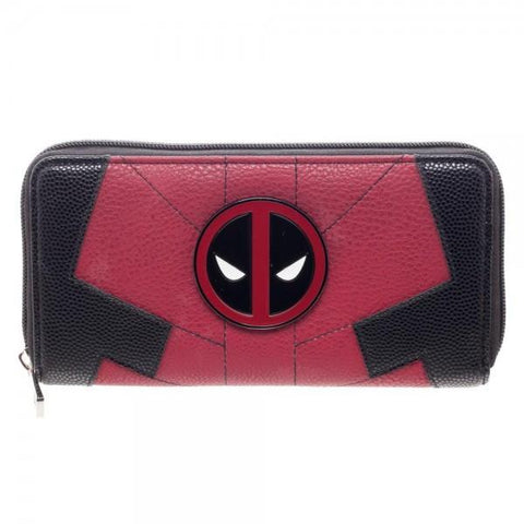 Marvel Deadpool Juniors Suit Up Zip Around Wallet - Cupid's Corner