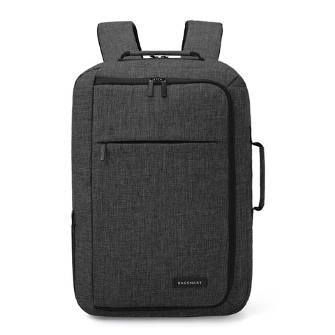 Unisex 15.6 Laptop Backpack Convertible Briefcase 2-in-1 Business Travel Luggage Carrier - Cupid's Corner