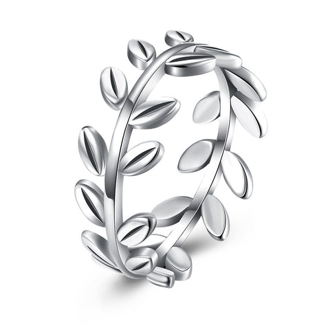 925 Sterling Silver Ring  New fashion branch ring woman - Cupid's Corner