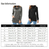 2018 Spring Women Casual Long Sleeve Blouse Cowl Neck Slim Tunic Tops With Pockets Pullovers Sweatshirts - Cupid's Corner
