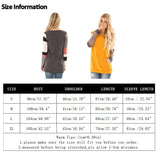 2018 Spring Womens Patchwork Blouse Long Sleeve Sweatshirts for Woman Ladies Casual Tunic Tops - Cupid's Corner
