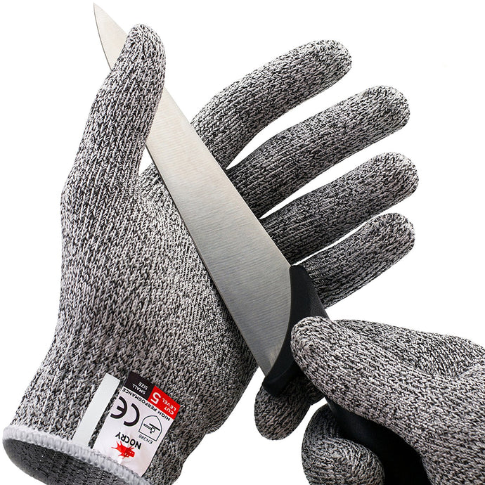 Cut Resistant Gloves - High Performance Level 5 Protection, Food Grade.