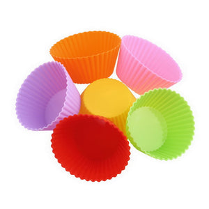 12pc Reusable Silicone Cupcake Liners