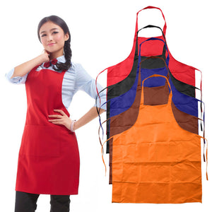 Assorted Plain Color Adult Apron