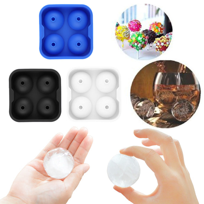 Silicone Spheres Ice Mold