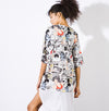 Graphic Shirtdress