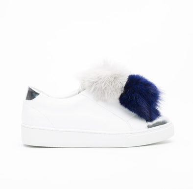 Arian Pompom Sneakers For Kids