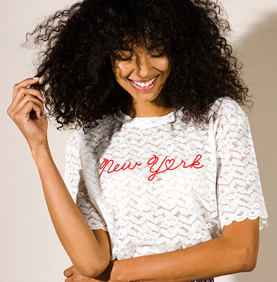 New York Lace T-Shirt
