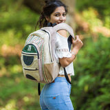 Natural Handmade Hemp Backpack