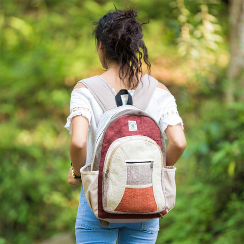 Lightweight Multipurpose Hemp Carry Backpack