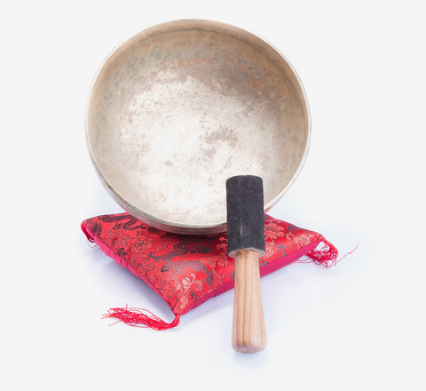 7 Metal Handmade Tibetan Ulta Baati Singing Bowl Meditation and Chakra Healing