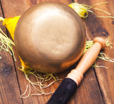 Thado Bati Fine Finish Chakra Healing Singing Bowl