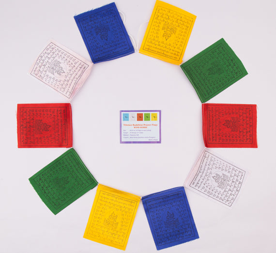 Small Size Tibetan Prayer Flag Set