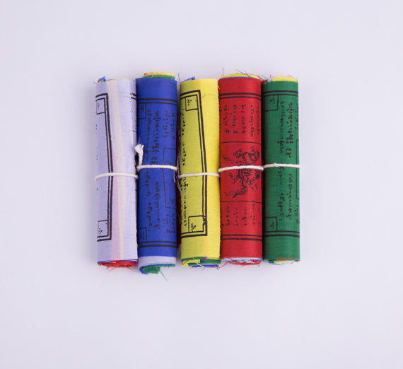 Small Size Buddhist Prayer Flag Set