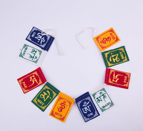 Single String Tibetan Prayer Flag