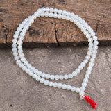 Special Tibetan Stone Prayer Mala Necklace