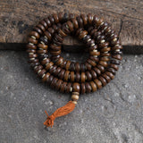 Tibetan Yak Bone Prayer Beads