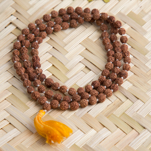 Rudraksha  Holy Beads Prayer Mala