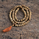 Special Antique Tibetan Bone Prayer Mala Beads