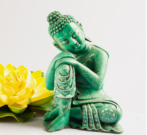 Resin Sitting Buddha statue