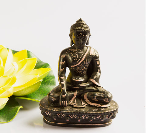 Resin Buddha Meditation Statue Made in Nepal