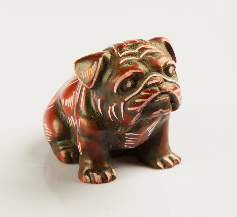 Small Pug Resin Statue