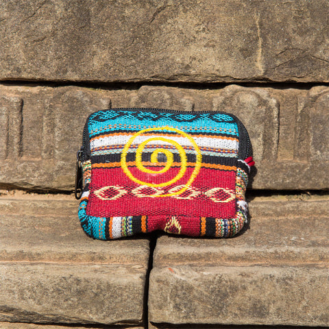 Rectangle Cotton Zipper Coin Purse