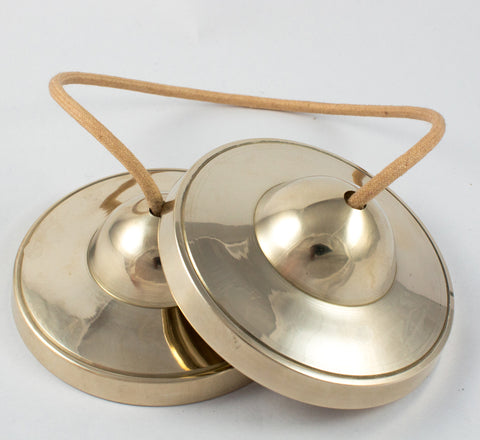 High Quality Special  Bronze Plain tingsha cymbal
