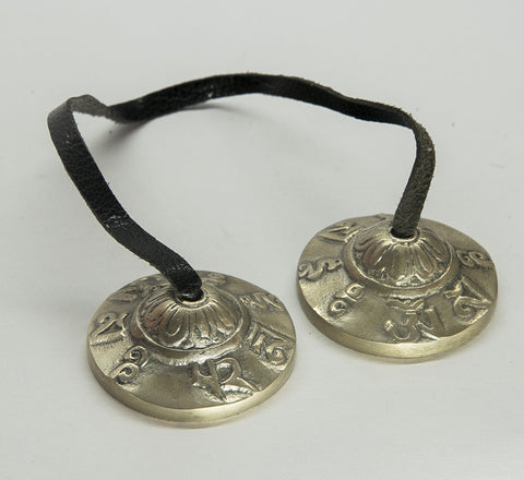 High Quality Special  Bronze Antique tingsha cymbal - Meditation Bells