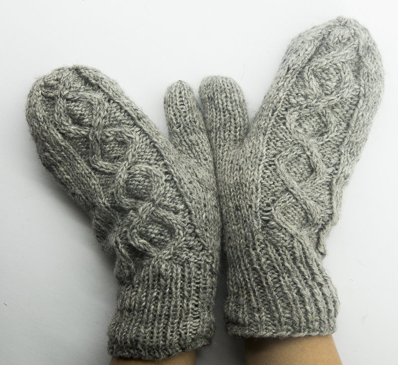 Fingerless Woolen Hand Gloves