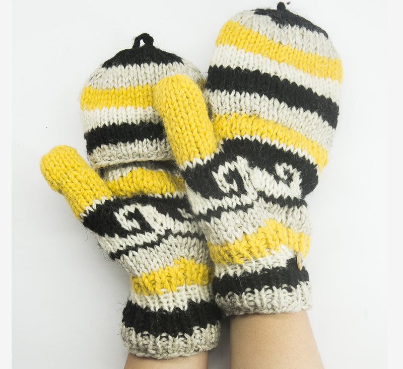 Multicolor Woolen Hand Gloves