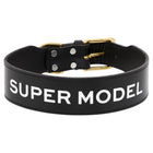 Leather Dog Collar - SUPER MODEL