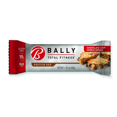 BALLY TOTAL FITNESS® Chocolate Chip Cookie Dough Protein Bar