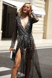 Chic Transparent Party Dress