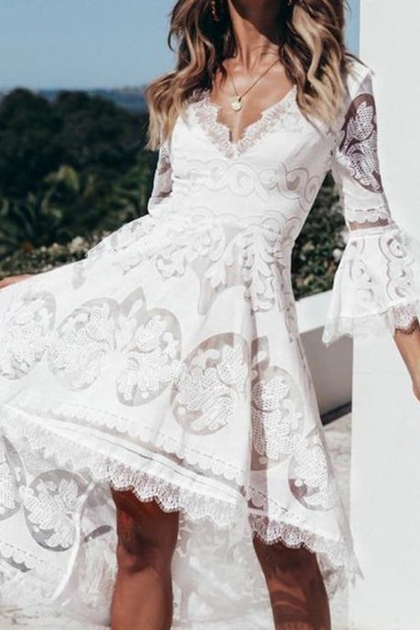 Lace Hallow Dress