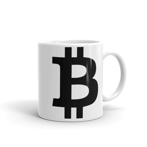 Bitcoin / BTC B Mug Mugs  - Crypto & Proud