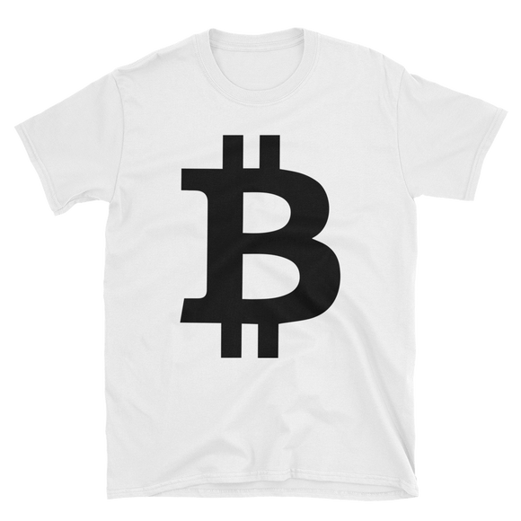 Bitcoin / BTC B Softstyle T-Shirt-S- Crypto & Proud