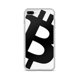 Bitcoin / BTC BW iPhone Case Phone cases  - Crypto & Proud