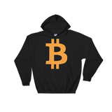 Bitcoin / BTC C Heavy Blend Hoodie-Black- Crypto & Proud