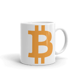 Bitcoin / BTC C Mug-11oz- Crypto & Proud