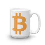 Bitcoin / BTC C Mug-15oz- Crypto & Proud