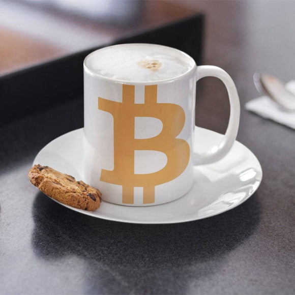 Bitcoin / BTC C Mug Mugs  - Crypto & Proud