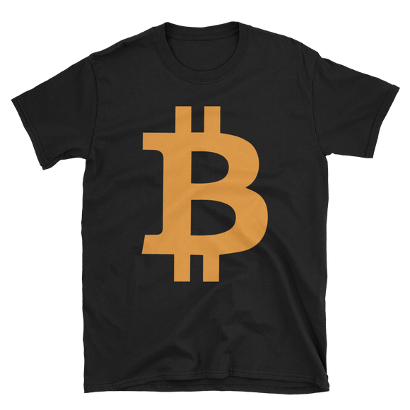 Bitcoin / BTC C Softstyle T-Shirt T-Shirts  - Crypto & Proud