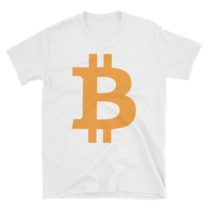 Bitcoin / BTC C Softstyle T-Shirt-Black- Crypto & Proud