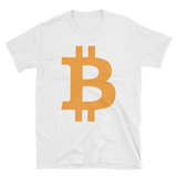 Bitcoin / BTC C Softstyle T-Shirt-White- Crypto & Proud