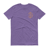 Bitcoin / BTC OSC T-Shirt Premium-Heather Purple- Crypto & Proud