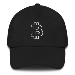 Bitcoin / BTC OW Classic Hat-Black- Crypto & Proud