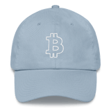 Bitcoin / BTC OW Classic Hat-Light Blue- Crypto & Proud