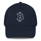 Bitcoin / BTC OW Classic Hat-Navy- Crypto & Proud